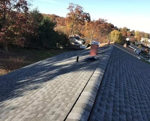 asphalt roof repair