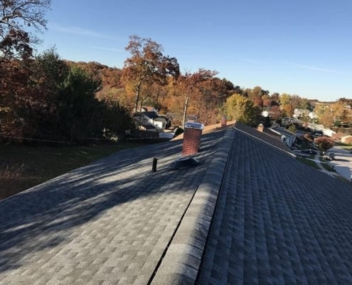 asphalt shingles roof replacement