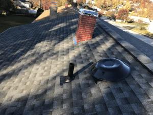 Roof fan installation