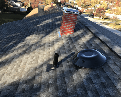 Roof fan installation