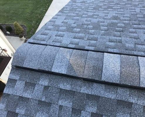 plastic ridge vent