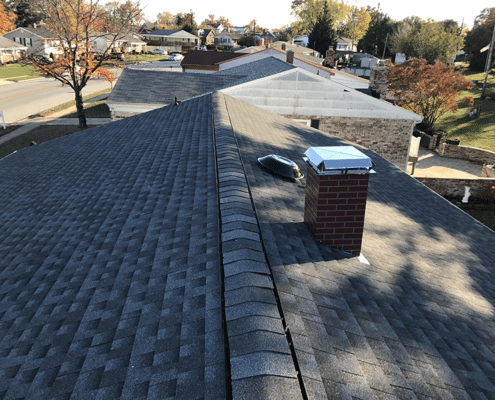 gray cap shingles