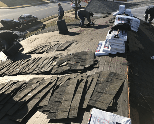 roof replace with Timberline shingles