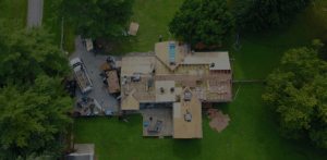 Shingles roof plywood replacement
