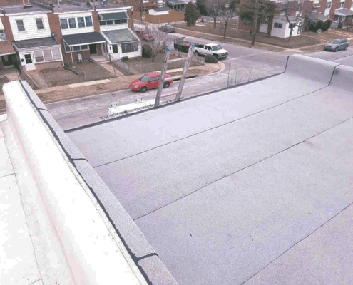 Essex flat roof replacement