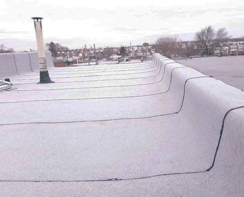 Dundalk flat roof replacement