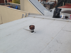 Low slope roof repair