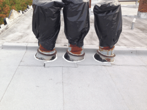 Flat roof repair in Baltimore
