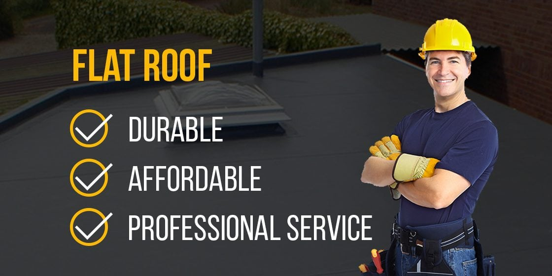 Rubber roof professional service