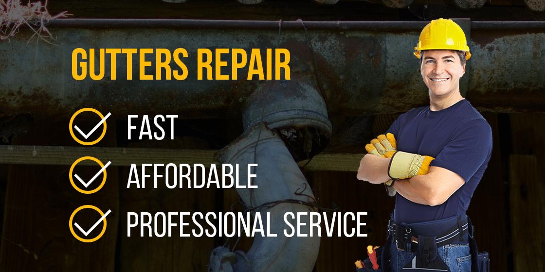 Half round gutters service