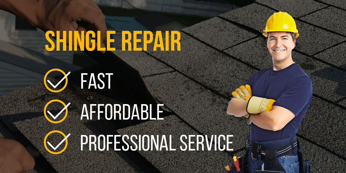 shingle repair professional service