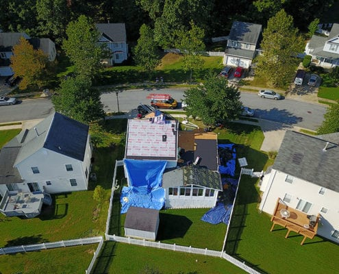 Owens Corning roof installation