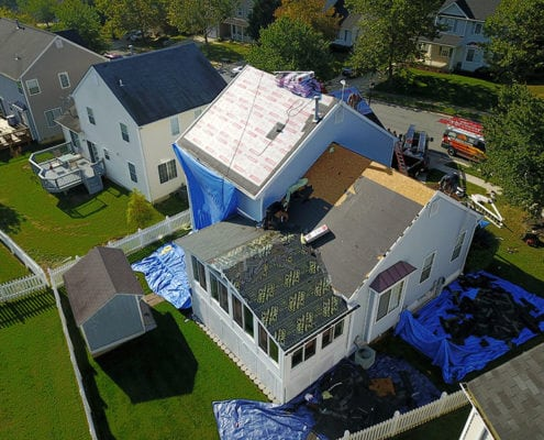 Roof replacement with Owens Corning product