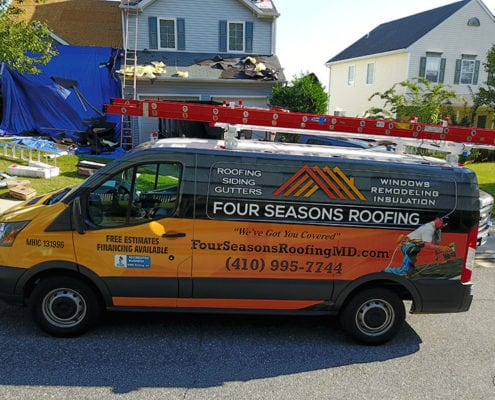 Four Seasons Roofing in Maryland