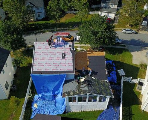 Roof replacement in Finksburg