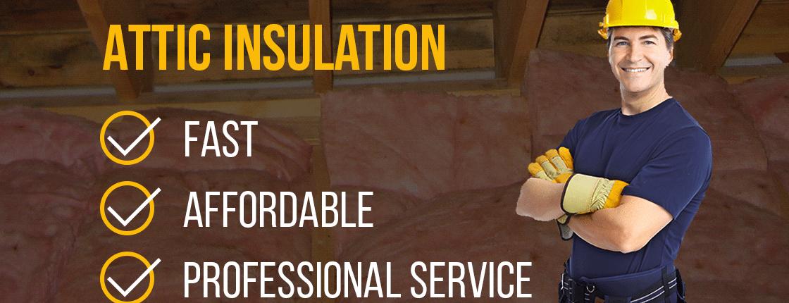 Attic insulation professional service