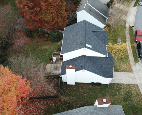 Owens Corning Duration Onyx Black Shingles Four Seasons