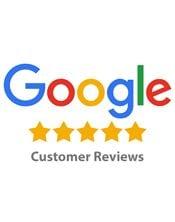 Google logo with stars