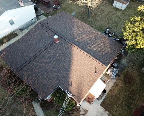 Roof replacement done