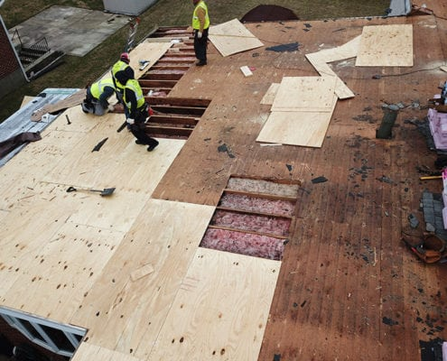 Roof instalations in Maryland