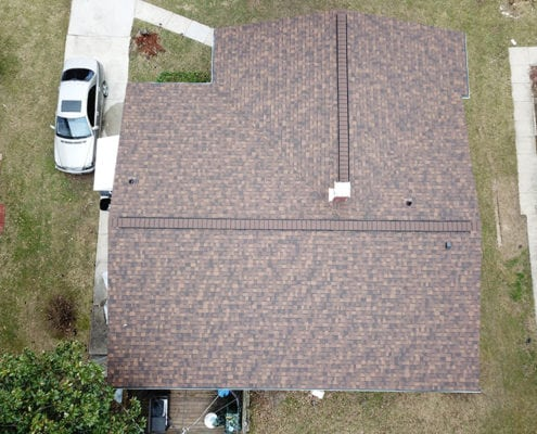 Roof replacement done work