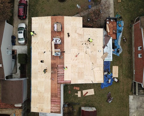 professional roof contractors
