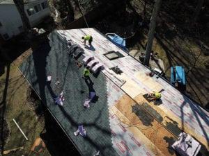 Emergency roof repair tarp