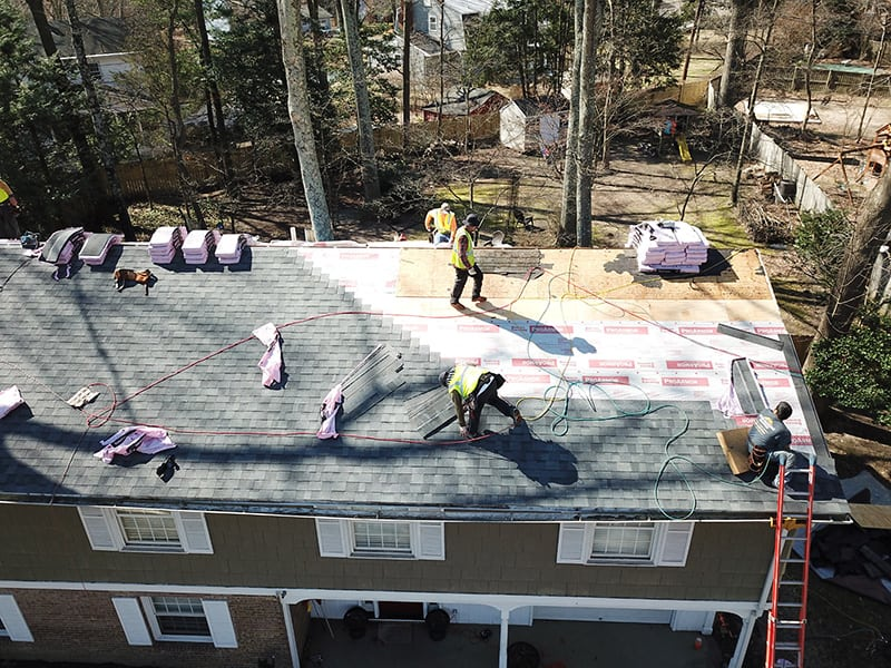 Licensed Roofing Contractors Near Me - Four Seasons Roofing