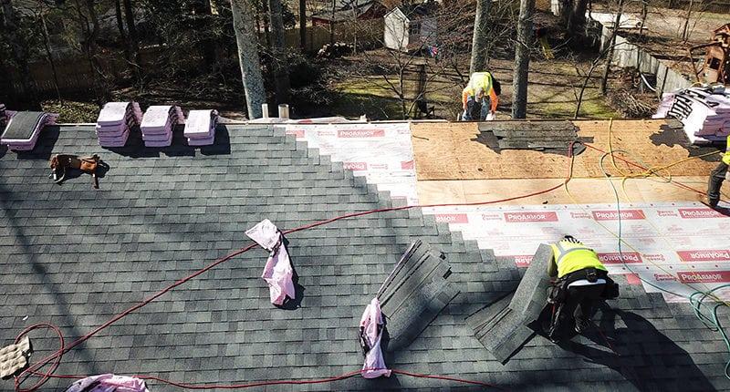 asphalt roofing contractors