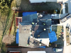 Flat roofing replacement