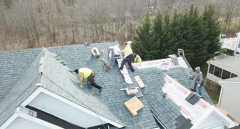roofing contractor pikesville md